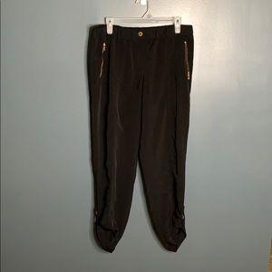 Calvin Klein zipper joggers